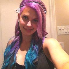 Mermaid hair Colourful Hair, Colorful, Awesome Hair, Mermaid Hair, Body Modifications, Sirens, Wavy Hair, Cute Hairstyles, The Little Mermaid