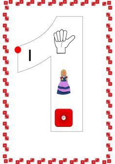 ένα ιστολόγιο για το νηπιαγωγείο Numbers 1 10, Preschool, Letters, Education, Maths, Blog, Kid Garden, Letter, Blogging