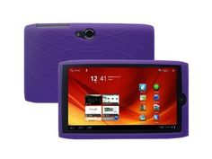 Acer Iconia A100 7-Inch Tablet Silicone Skin Case Gel Cover – Purple | All about Tablets @ Tblet.com