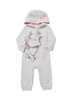 Clothing at Tesco | Disney Aristocats Marie Onesie > all in ones > Newborn > Baby