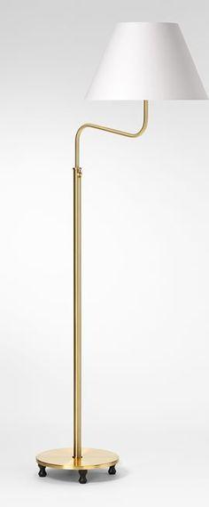 Floor Lamp 2568 - Brass, Josef Frank   Svenskt Tenn