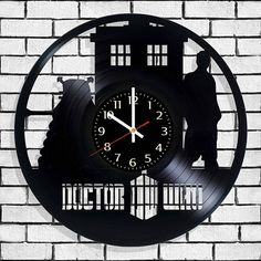 Wall clock Doctor Who with original design Doctor Who wall