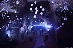 Deux plasticiens investissent les caves Ackerman, les plus hautes de la région.