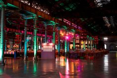 Wishing Brisbane had some large funky warehouse venues in the CBD