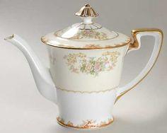 Noritake Cardinal (193/98829) Teapot & Lid