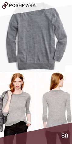 J.Crew Tippi Sweater J.Crew Tippi Sweater is so soft and beautiful! A classic staple for a woman's closet! Absolutely no returns✨ J. Crew Sweaters