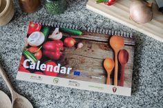 Calendar comenius by Noé Cunha, via Behance
