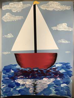 1st grade sailboats, 1st grade art lesson, 1st grade painting, #1stgrade #1stgradeart #firstgrade #firstgradeart #artlessons #elementaryart #elementaryartlessons #sailboats