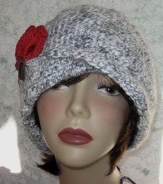 Crochet Hat Pattern Flapper Style With Brim Petal by kalliedesigns