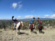 Spring, Spring Break, March, April, Geronimo Trail Guest Ranch, Gila National Forest, New Mexico, Horseback Riding, Trail Riding, Family Vacations