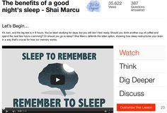 Dormire per ricordare / Sleep to remember