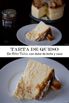 Tarta de queso de Aliter Dulcia, con dulce de leche y coco, sin gluten (paso a paso) Cheesecakes, Queso Fresco, Sweet Cakes, Sans Gluten, French Toast, Favorite Recipes, Bread, Homemade, Breakfast