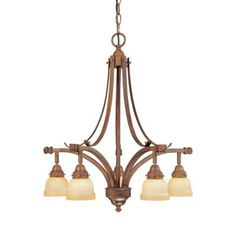 Hampton Bay 5-Light Hanging Walnut Chandelier-EC3225WAL at The Home Depot $74.50