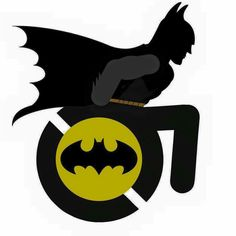 Rolling Batman! >>> See it. Believe it. Do it. Watch thousands of spinal cord injury videos at SPINALpedia.com