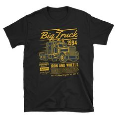 Big Truck Spare Parts Iron And Wheels 1994 Short-Sleeve Unisex T-Shirt
