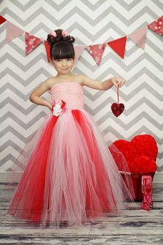 Newborn  Size 9 Valentine Tutu Dress by krystalhylton on Etsy, $35.00