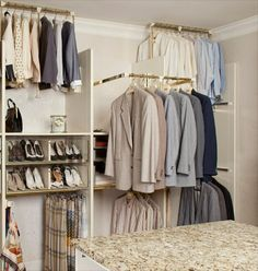 Pull Down Closet Rods Handicap Accessable