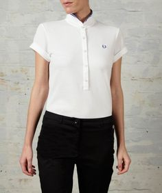Fred Perry by Amy Winehouse Twin Tipped Shirt
