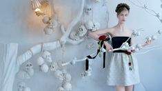 RED Valentino Fall/Winter 2013-2014 Campaign: Skulls and Roses by Tim Walker