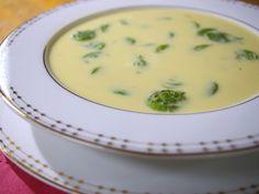 Fiddlehead and Saffron Soup from CookingChannelTV.com