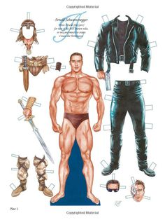Action Stars Paper Dolls (Dover Celebrity Paper Dolls): Bruce Patrick Jones: 9780486476063: Amazon.com: Books