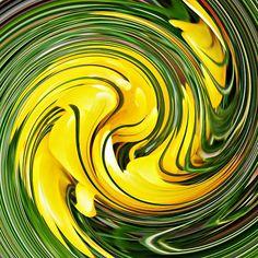 Crocus Swirl 2    by S Loft
