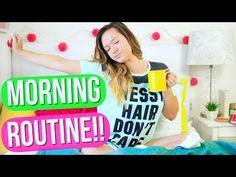 Morning Routine for School 2015!! Alisha Marie - YouTube  this is my morning routine for school!!