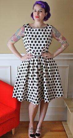 Gertie's Polka Dotty Dress