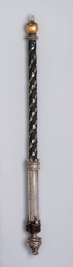 1855 German (Breslau) Conductor's baton at the Metropolitan Museum of Art, New York