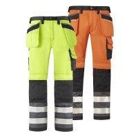 3b48ca0beff94c Snickers Warnschutzhose 3233  Snickers  Warnschutz  Hose  Workwear   GenXtreme Arbeitskleidung