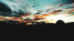 #colours #sunset #sky #clouds