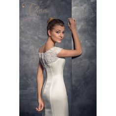 Luxusné svadobné šaty v štýle morská panna