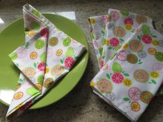 """Thanks for the kind words! ★★★★★ """"Great experience! We love everything about these. Our order was quick, easy, and arrived on time. They are soft, well-made, and wash well. We purchased these to help reduce our waste and stop using as many paper products and will defin Party Napkins, Dinner Napkins, Napkins Set, Cotton Napkins, Cloth Napkins, Blue Face Mask, Mitered Corners, Table Arrangements, Kind Words"""