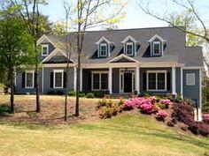 Country   Hillside   House Plan 50241