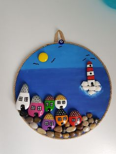 Stone Crafts, Rock Crafts, Diy Arts And Crafts, Creative Crafts, Crafts To Make, Stone Art Painting, Pebble Painting, Rock Painting Ideas Easy, Rock Painting Designs