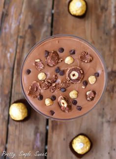 This luscious mousse only requires two ingredients. Get the recipe from Pretty.Simple.Sweet.