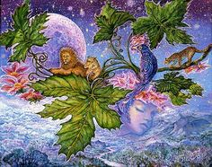 Jungle Dreaming by Josephine Wall