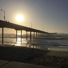 Great sunset, beautiful big waves! #oceanbeach #sandiego #california #goodtimes #beach #ocean #oceanbreezes #sunset #waves #pier #sand #fun #lifeisgood #lifeisanadventure #sandiego #sandiegoconnection #sdlocals #sandiegolocals - posted by His and Hers Vlogs https://www.instagram.com/his_hers_alaska. See more post on San Diego at http://sdconnection.com