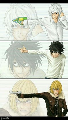 Death Note | Lawliet and Near and Mello