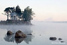 Tverdysh Island, in the northern part of which the Monrepos Park Reserve Museum is located, was previously known as Castle Island (Slottsholmen in Swedish…