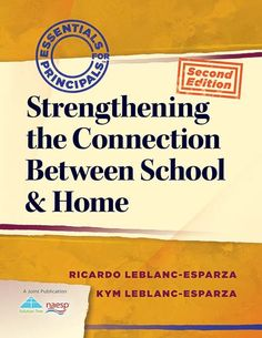 """Read """"Strengthening the Connection Between School & Home"""" by Ricardo LeBlanc-Esparza available from Rakuten Kobo. Examine the pivotal role family engagement plays in student achievement, and explore in depth the process of creating an. Home Connections, Family Engagement, Book Cover Design, Teaching Resources, Homeschool, This Book, Parenting, Student, How To Plan"""