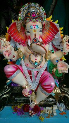 Make this Ganesha Chathurthi 2020 special with rituals and ceremonies. Lord Ganesha is a powerful god that removes Hurdles, grants Wealth, Knowledge & Wisdom. Jai Ganesh, Ganesh Idol, Ganesh Lord, Shree Ganesh, Lord Shiva, Lord Krishna, Shri Ganesh Images, Krishna Images, Krishna Art
