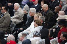 Hillary Clinton Shows Resolve Watching Her Rival's Inauguration - The New York Times