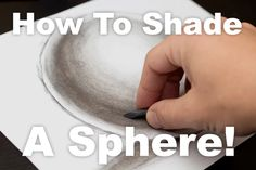 How To Shade A Sphere With Charcoal