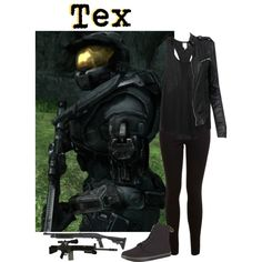 """""""Hey punk, I don't need a weapon to kill you."""" by alphagamma19 on Polyvore"""