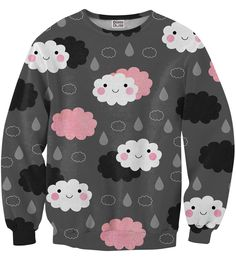 Moody weather sweater, Mr. GUGU & Miss GO