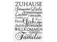 Shabby Vintage WANDTAFEL Holzschild ZUHAUSE Dekoschild Landhaus