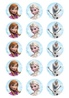 Disney Frozen party supplies and decorations. Party with Olaf, Anna and Elsa and browse our massive range of themed tableware, favours, ballons and decor! Frozen Cupcake Toppers, Frozen Cupcakes, Frozen Cake, Cupcake Cupcake, Frozen Disney, Disney Frozen Birthday, Frozen Themed Birthday Party, Elsa Birthday, Cumple De Frozen Ideas