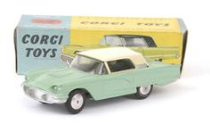 Mettoy Corgi diecast No.214 Ford Thunderbird
