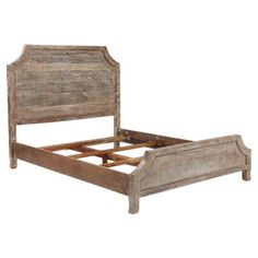 Check out this item at One Kings Lane! Weathered Pecan Poppy Bed